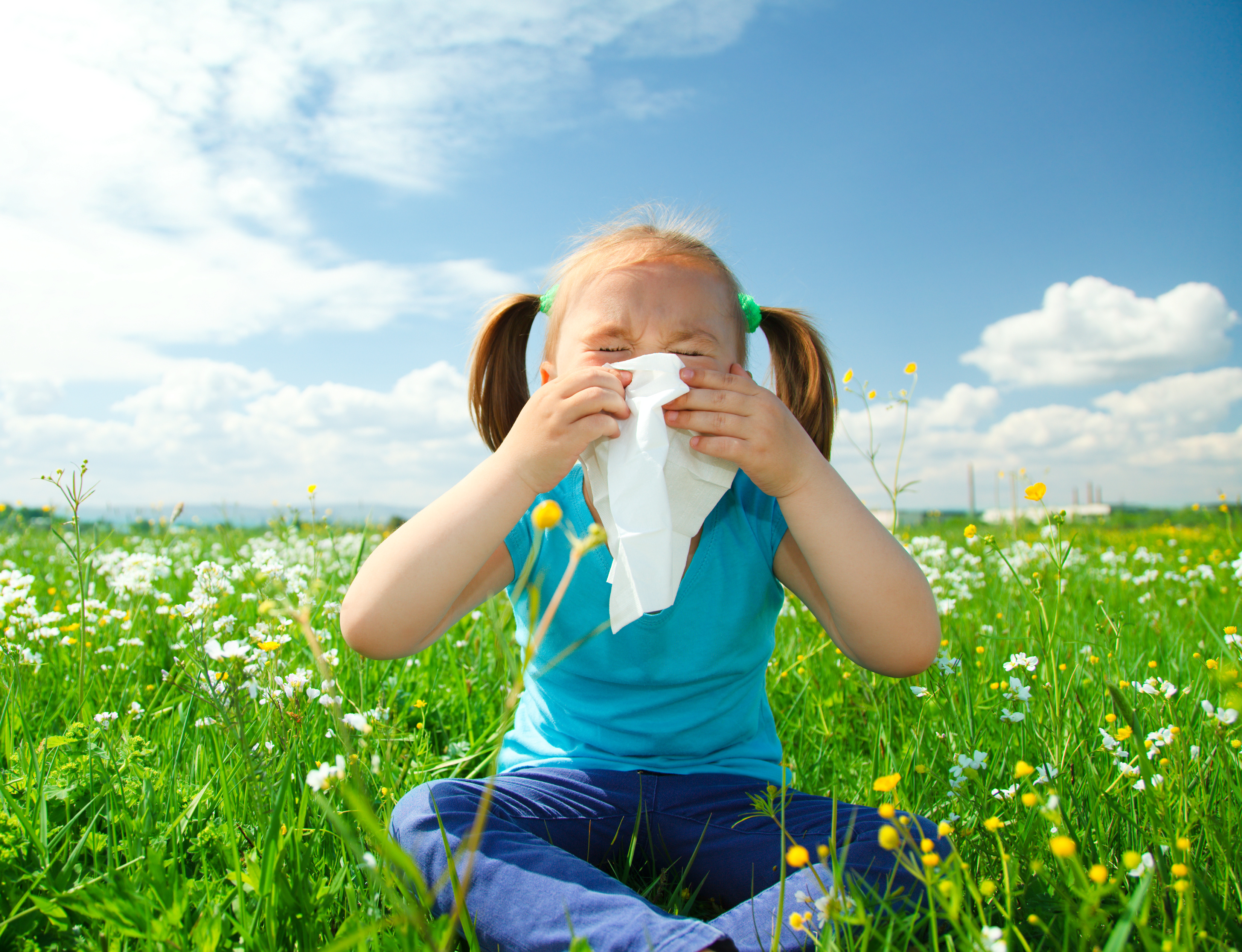 Do allergies in children disappear with time?