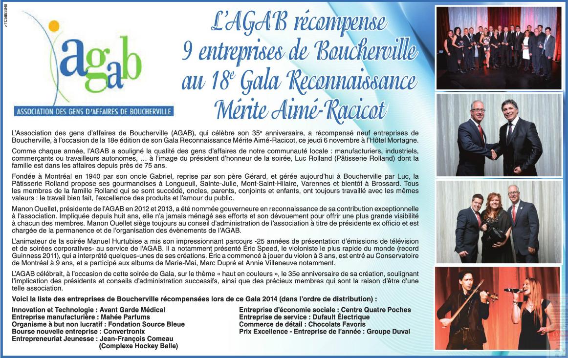 avantgarde medical AVANT GARDE Médical reçoit le prix Innovation & Technologie de l'AGAB – Journal La Seigneurie