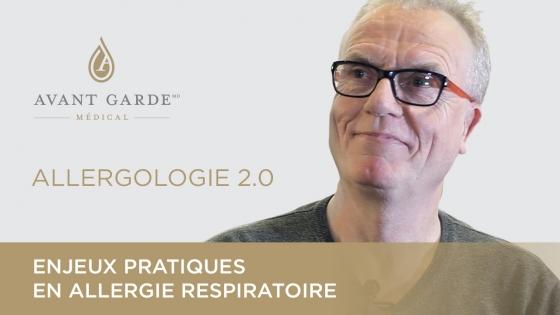 Le Dr Alain Thillay parle d'enjeux pratiques en allergie respiratoire