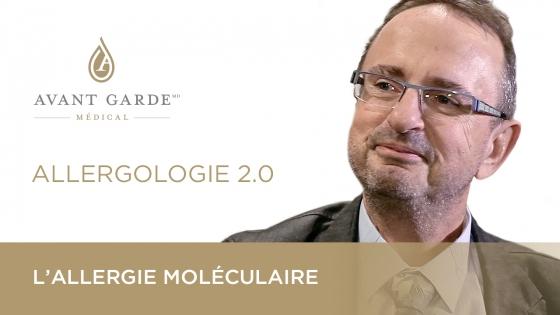 Le Dr Hervé Masson nous explique l'allergie moléculaire