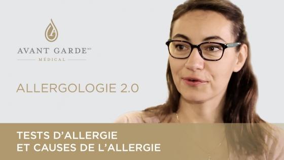 Dre Joana Vitte discute des causes de l'allergie et du rôle des tests biologiques