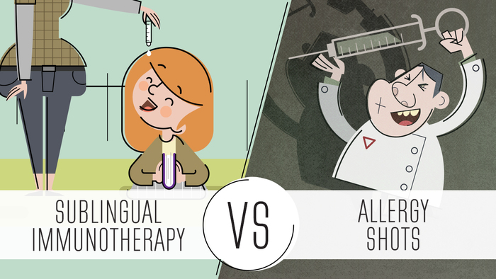 Sublingual immunotherapy VS allergy shots - Avant Garde Médical